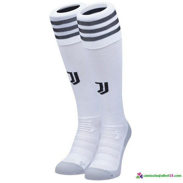 Calcetines 1ª Kit Juventus 2018 2019 Blanco