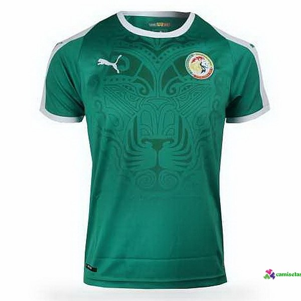 Camiseta 1ª Kit Senegal 2018 Verde