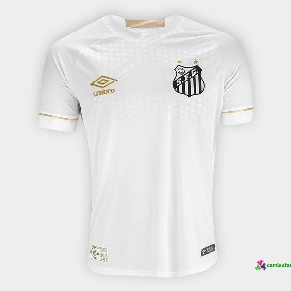 Camiseta 1ª Kit Santos 2018 2019 Blanco