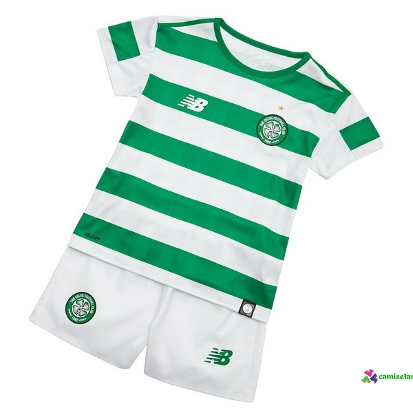 Camiseta 1ª Kit Niños Celtic 2018 2019 Verde