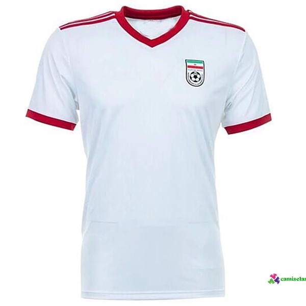 Camiseta 1ª Kit Irán 2018 Blanco