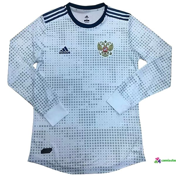 Camiseta 2ª Kit ML Rusia 2018 Blanco