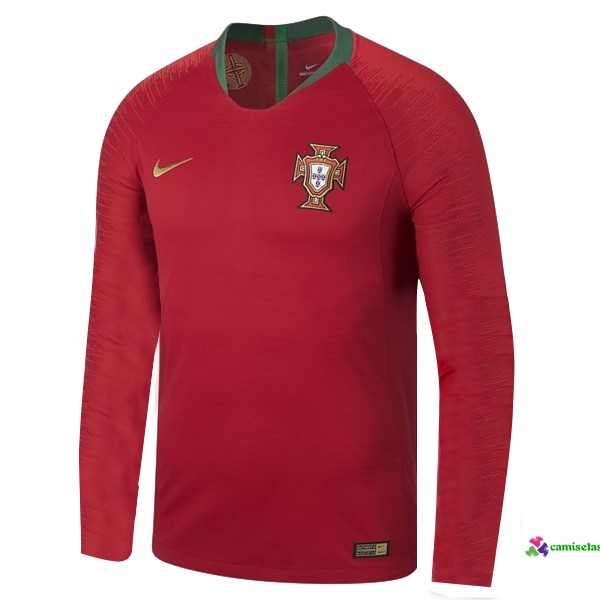 Camiseta 1ª Kit ML Portugal 2018 Rojo
