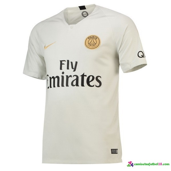 Camiseta 2ª Kit Paris Saint Germain 2018 2019 Blanco