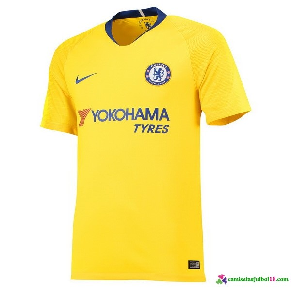 Camiseta 2ª Kit Chelsea 2018 2019 Amarillo