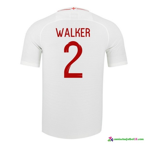 Walker Camiseta 1ª Kit Inglaterra 2018 Blanco