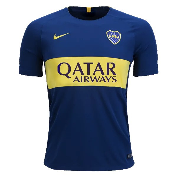 Camiseta 1ª Kit Boca Juniors 2018/19 Azul