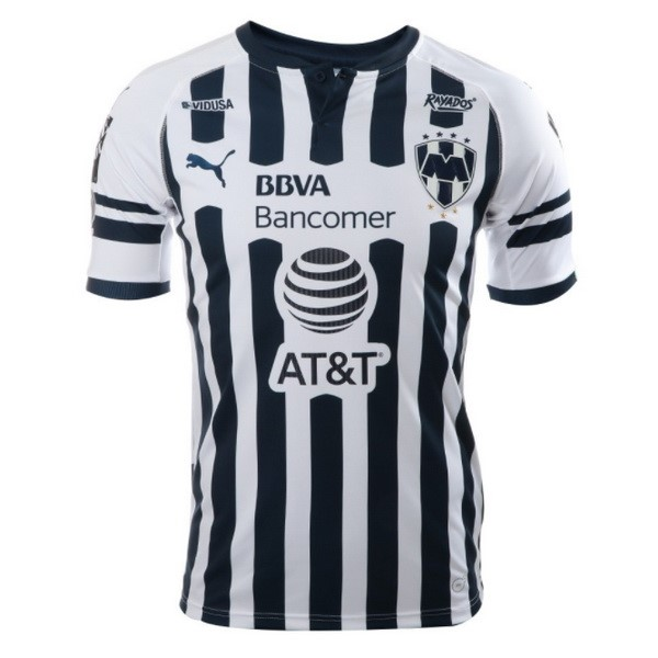 Camiseta 1ª Kit Monterrey 2018/19 Blanco
