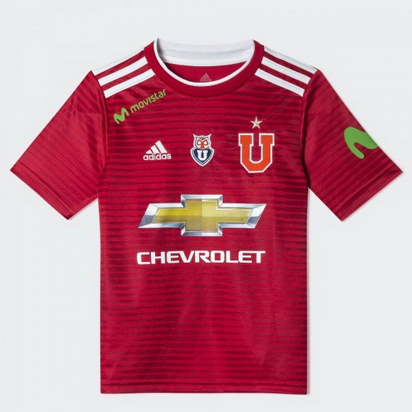 Camiseta 2ª Kit Universidad Chile 2018/19 Rojo