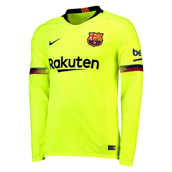 Camiseta 2ª Kit Barcelona ML 2018/19 Verde
