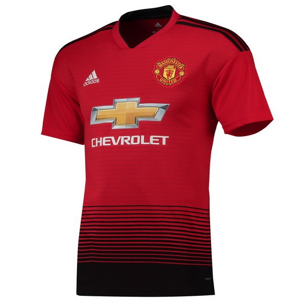 Camiseta 1ª Kit Manchester United 2018/19 Rojo