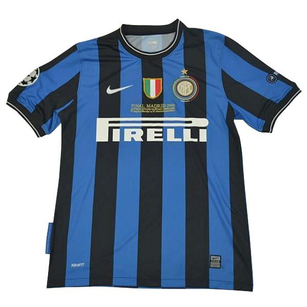 Camiseta 1ª Kit Inter Milán 2010 Azul