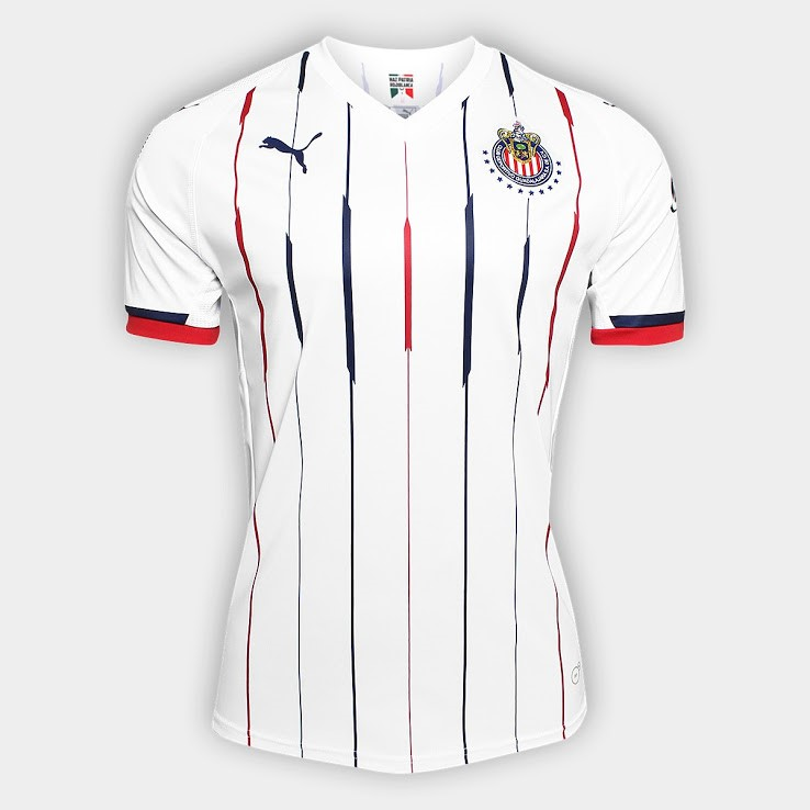 Camiseta 2ª Kit CD Guadalajara 2018/19 Blanco