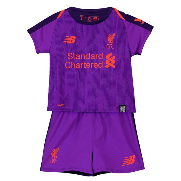 Camiseta 2ª Kit Liverpool Niños 2018/19 Purpura