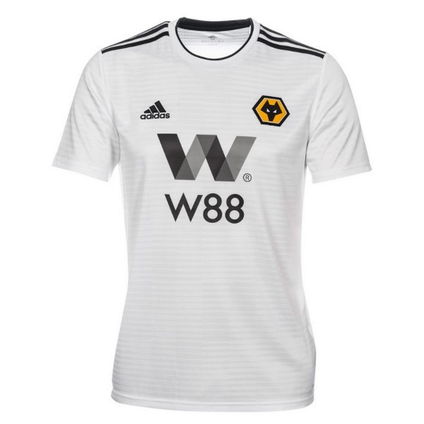 Camiseta 2ª Kit Wolves 2018/19 Blanco
