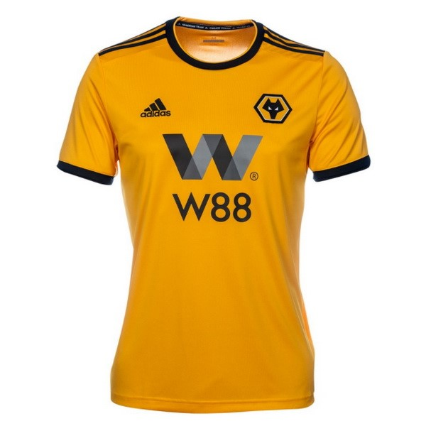 Camiseta 1ª Kit Wolves 2018/19 Amarillo