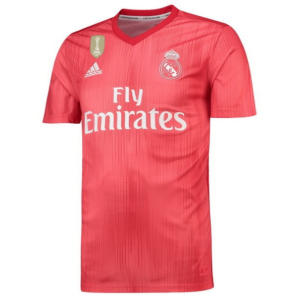 Tailandia Camiseta 3ª Kit Real Madrid 2018/19 Rojo