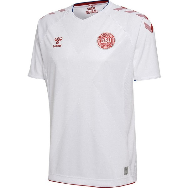 Camiseta 2ª Kit Dinamarca 2018 Blanco