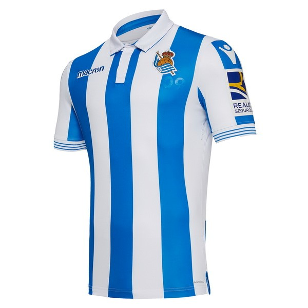 Camiseta 1ª Kit Real Sociedad 2018/19 Azul