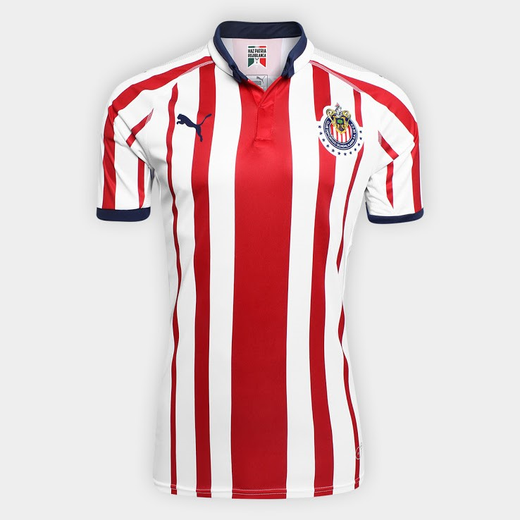 Camiseta 1ª Kit CD Guadalajara 2018/19 Rojo