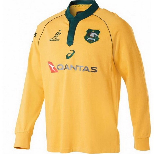 Camiseta 1ª Kit Australia ML 2018 Amarillo