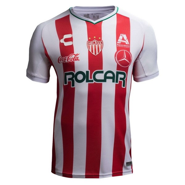 Camiseta 1ª Kit Club Necaxa 2018 2019 Rojo