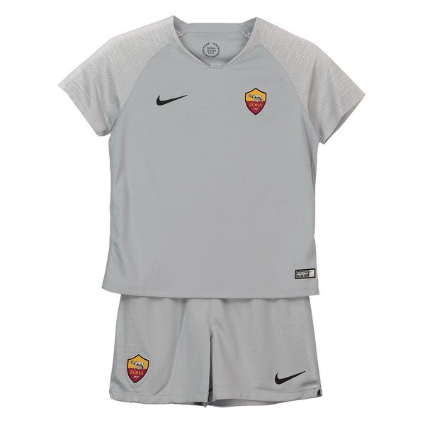 Camiseta 2ª Kit AS Roma Niños 2018 2019 Gris