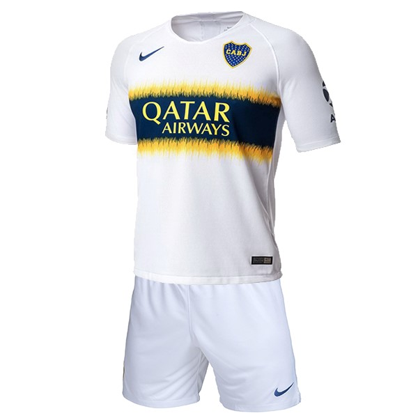 Camiseta 2ª Kit Boca Juniors Niños 2018 2019 Blanco