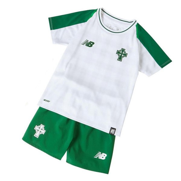 Camiseta 2ª Kit Celtic Niños 2018 2019 Blanco