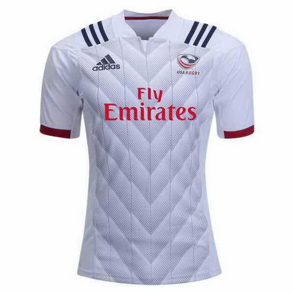 Camiseta 1ª Kit Estados Unidos 2018 Blanco