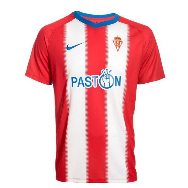 Camiseta 1ª Kit Sporting Gijon 2018 2019 Rojo