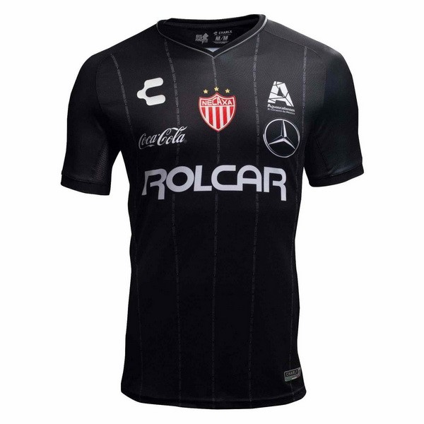 Camiseta 2ª Kit Club Necaxa 2018 2019 Negro