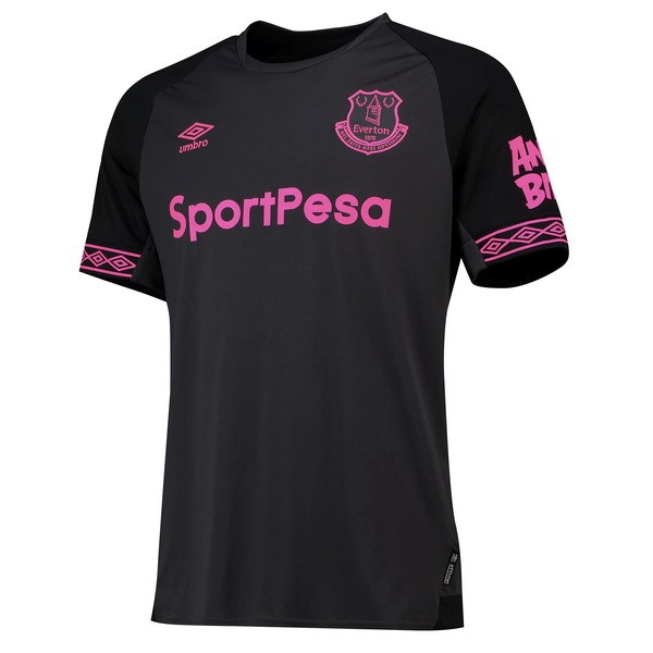 Camiseta 2ª Kit Everton 2018 2019 Negro