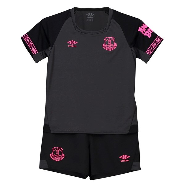 Camiseta 2ª Kit Everton Niños 2018 2019 Negro
