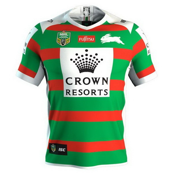 Camiseta 2ª Kit Rabbitohs 2018 Verde