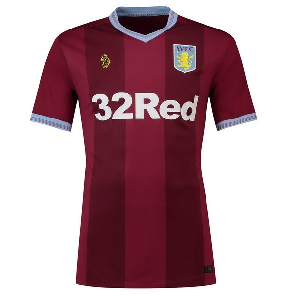 Camiseta Aston Villa 1ª Kit 2018 2019 Rojo