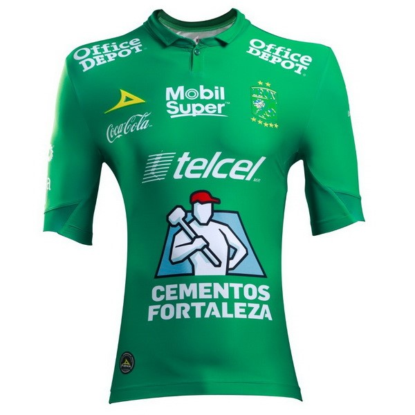 Camiseta Club León 1ª Kit 2018 2019 Verde