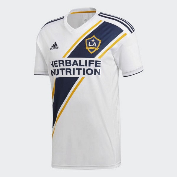 Camiseta Los Angeles Galaxy 1ª Kit 2018 2019 Blanco