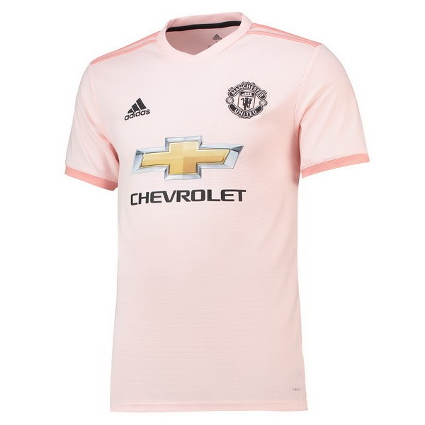 Camiseta Manchester United 2ª Kit 2018 2019 Rosa