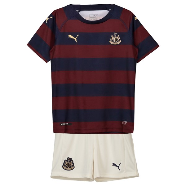 Camiseta Newcastle United 2ª Kit Niños 2018 2019 Rojo Negro
