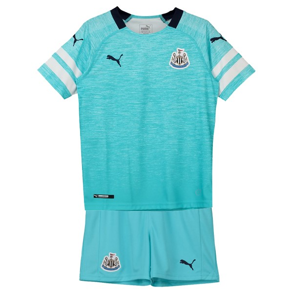 Camiseta Newcastle United 3ª Kit Niños 2018 2019 Azul