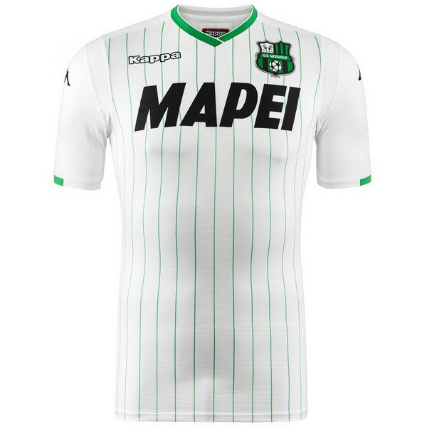 Camiseta Sassuolo 2ª Kit 2018 2019 Blanco