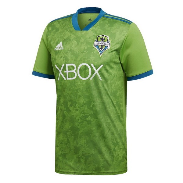 Camiseta Seattle Sounders 1ª Kit 2018 2019 Verde