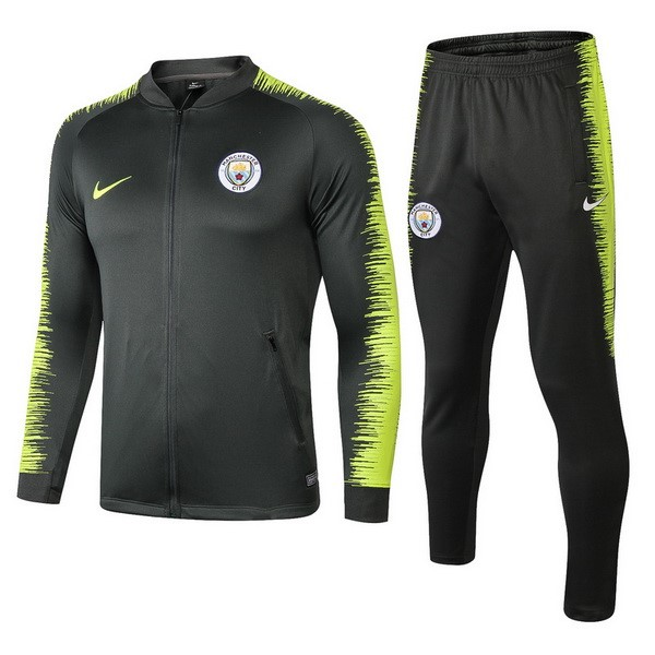 Chandal Manchester City 2018 2019 Verde Amarillo