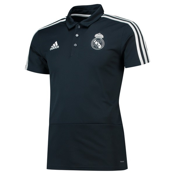 Polo Real Madrid 2018 2019 Negro