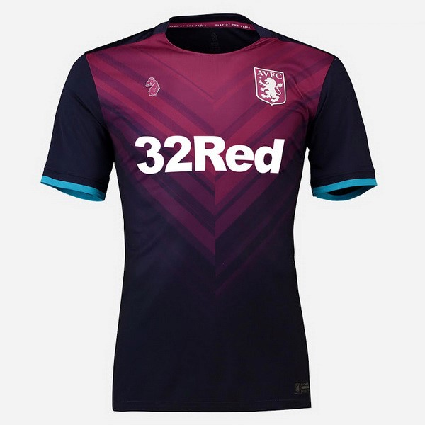 Camiseta Aston Villa 3ª Kit 2018 2019 Rojo