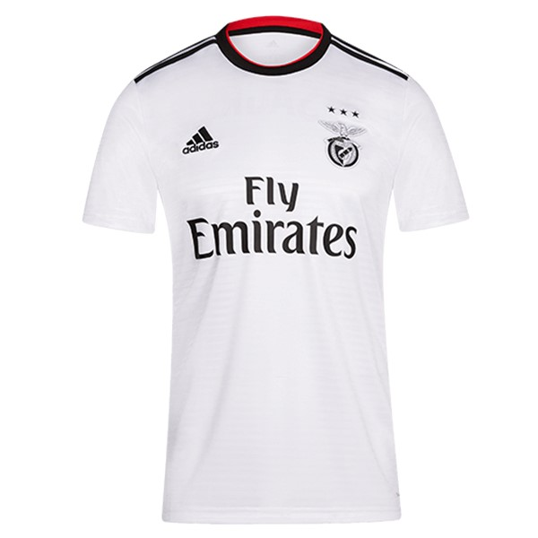 Camiseta Benfica 2ª Kit 2018 2019 Blanco