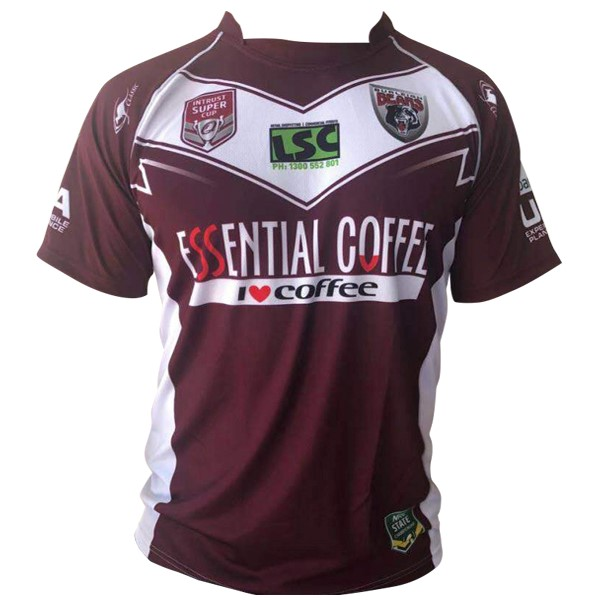 Camiseta Burleigh Bears 1ª Kit 202018 2019 Rojo