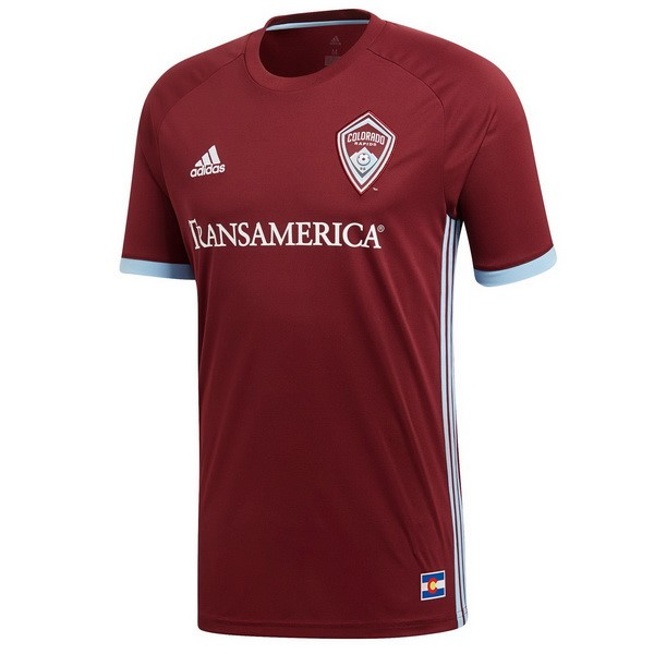 Camiseta Colorado Rapids 1ª Kit 2018 2019 Rojo