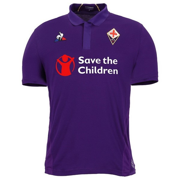 Camiseta Fiorentina 1ª Kit 2018 2019 Purpura